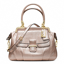 COACH F22330 Madison Pinnacle Pebbled Leather Lilly GOLD/PINK PEARL
