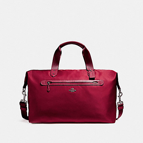 WEEKENDER - COACH F22347 - BLACK ANTIQUE NICKEL/TRUE RED