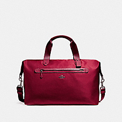 COACH F22347 Weekender BLACK ANTIQUE NICKEL/TRUE RED