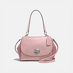 COACH F22348 Faye Carryall DUSTY ROSE/SILVER