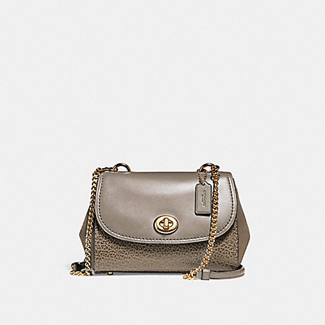 COACH F22349 FAYE CROSSBODY FOG/LIGHT-GOLD