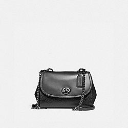 COACH F22349 - FAYE CROSSBODY BLACK/MATTE BLACK