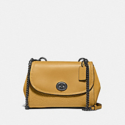 FAYE CROSSBODY - F22349 - FLAX/BLACK ANTIQUE NICKEL