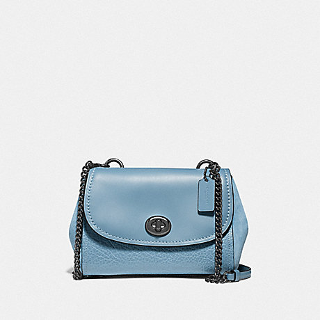 COACH F22349 FAYE CROSSBODY CORNFLOWER/SILVER