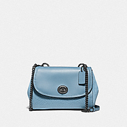 COACH F22349 - FAYE CROSSBODY CORNFLOWER/SILVER