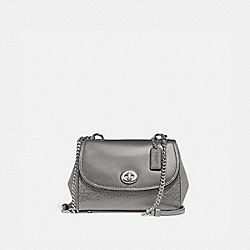FAYE CROSSBODY - f22349 - heather grey/silver