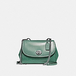 COACH F22349 - FAYE CROSSBODY SILVER/LEAF 2