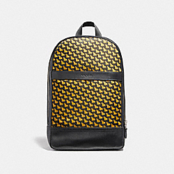 CHARLES SLIM BACKPACK WITH BUNNY PRINT - f22372 - NIMS8