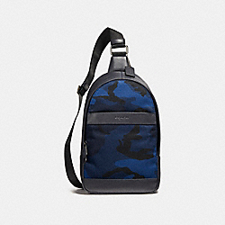 COACH F22379 Charles Pack With Camo Print NIMS5