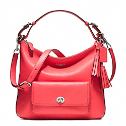 COACH F22381 - LEATHER COURTENAY HOBO ONE-COLOR