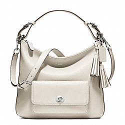 LEATHER COURTENAY HOBO - f22381 - 25590