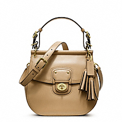 COACH F22382 - LEATHER WILLIS BRASS/SAND