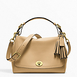 COACH F22383 Leather Romy Top Handle