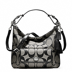 COACH F22392 - SIGNATURE COURTENAY HOBO ONE-COLOR
