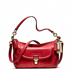 COACH F22420 - POPPY ADDISON CROSSBODY IN LEATHER ONE-COLOR