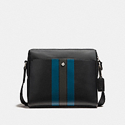 COACH F22496 Camera Bag With Varsity Stripe NIMS9
