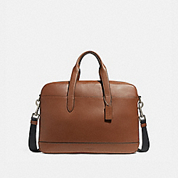 HAMILTON BAG - f22529 - NICKEL/SADDLE/BLACK