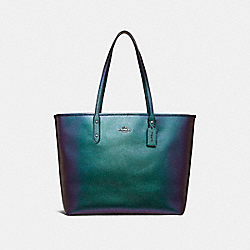 OPEN CITY TOTE - f22550 - BLACK ANTIQUE NICKEL/MULTI