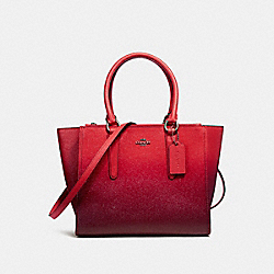 COACH F22557 - CROSBY CARRYALL SILVER/WATERMELON