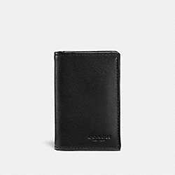 COACH F22695 Boxed Bifold Card Case BLACK