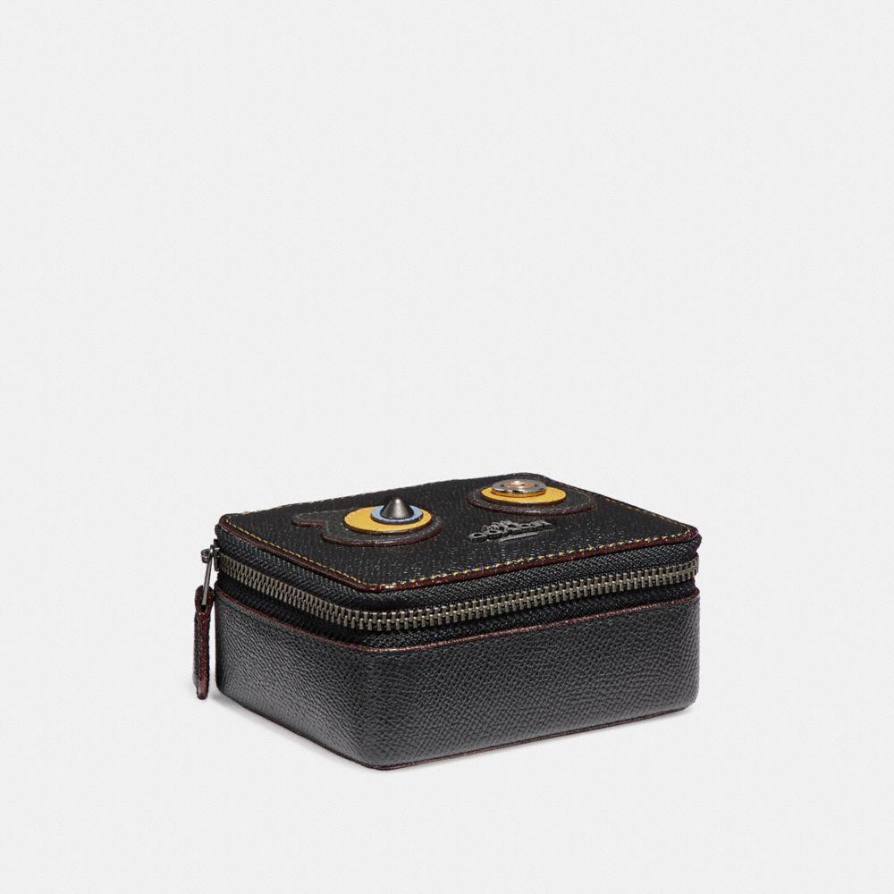 COACH F22758 JEWELRY BOX ANTIQUE NICKELBLACK COACH ACCESSORIES