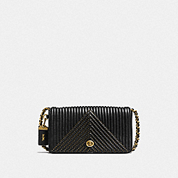 COACH F22789 - DINKY WITH QULITING AND RIVETS OL/BLACK