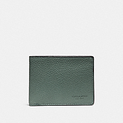 COACH F22814 Slim Billfold Wallet AGATE