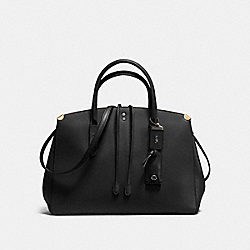 COACH F22821 - COOPER CARRYALL BLACK/BLACK COPPER
