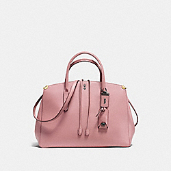 COACH F22821 - COOPER CARRYALL DUSTY ROSE/BLACK COPPER