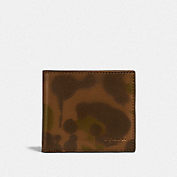 COACH F22824 - COIN WALLET WITH WILD BEAST PRINT SURPLUS