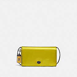 COACH F22832 - DINKY METALLIC LEMON/BLACK COPPER