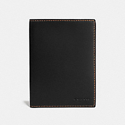 COACH F22875 - PASSPORT CASE BLACK