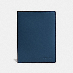 COACH F22875 - PASSPORT CASE DENIM