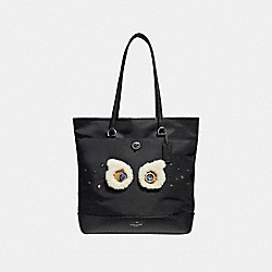TOTE - f22895 - ANTIQUE NICKEL/BLACK