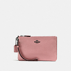 SMALL WRISTLET - f22952 - DUSTY ROSE/DARK GUNMETAL