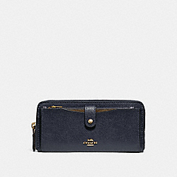 MULTIFUNCTION WALLET - f22997 - MIDNIGHT/IMITATION GOLD