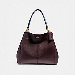 LEXY SHOULDER BAG WITH EDGEPAINT - f23008 - IMFCG