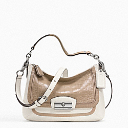 KRISTIN SPECTATOR LEATHER CROSSBODY - f23084 - 13701