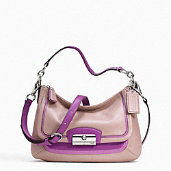 KRISTIN SPECTATOR LEATHER CROSSBODY - f23084 - 13702