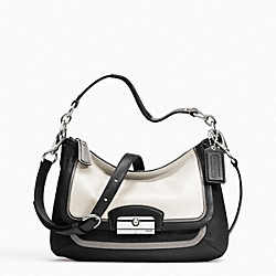 KRISTIN SPECTATOR LEATHER CROSSBODY - f23084 - 13700