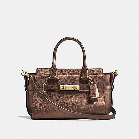 COACH f23197 COACH SWAGGER 27 BRONZE/LIGHT GOLD