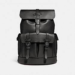 HUDSON BACKPACK - f23202 - ANTIQUE NICKEL/BLACK