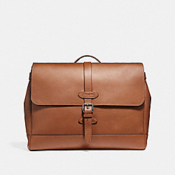 HUDSON MESSENGER - f23204 - ANTIQUE NICKEL/SADDLE