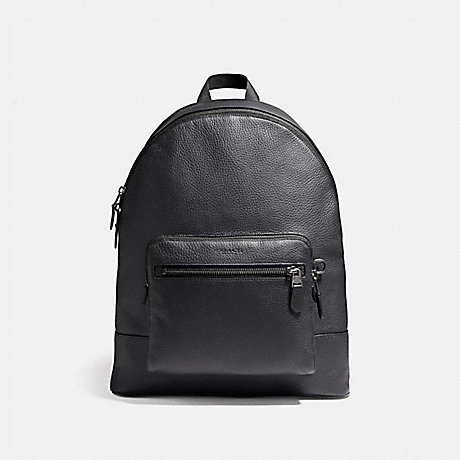 COACH f23247 WEST BACKPACK MIDNIGHT NAVY/BLACK ANTIQUE NICKEL