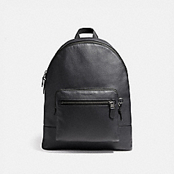 WEST BACKPACK - f23247 - MIDNIGHT NAVY/BLACK ANTIQUE NICKEL