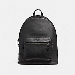 WEST BACKPACK - f23247 - ANTIQUE NICKEL/BLACK