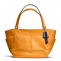 COACH F23284 - PARK LEATHER CARRIE BRASS/ORANGE SPICE