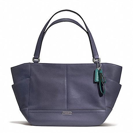 COACH f23284 PARK LEATHER CARRIE SILVER/SLATE