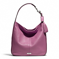 COACH AVERY LEATHER HOBO - SILVER/ROSE - F23309