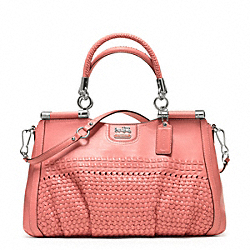 COACH F23341 - MADISON WOVEN CARRIE ONE-COLOR